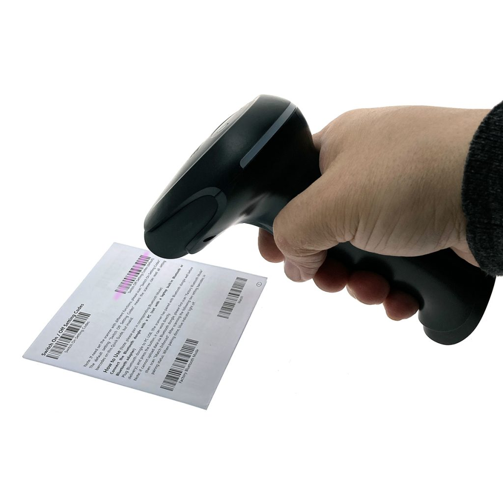 Сканер считывания штрих-кодов Espada E-660 1D беспроводной, Bluetooth