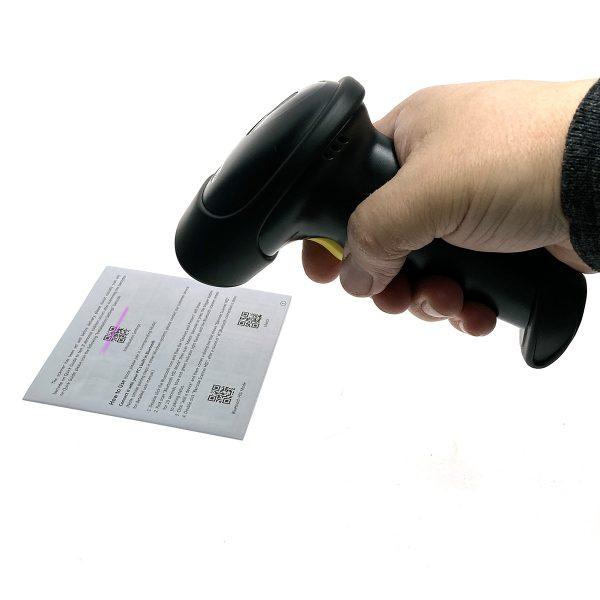 Сканер считывания штрих-кодов Espada E-9201B 2D беспроводной, Bluetooth
