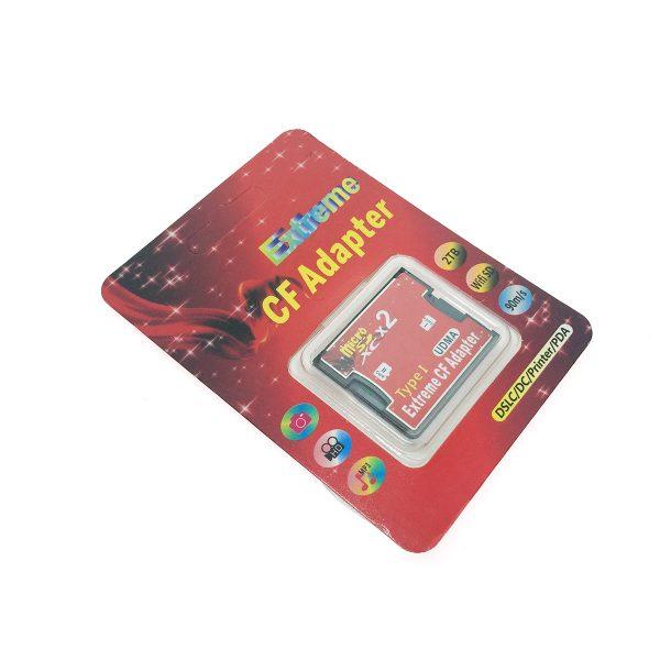 Переходник - адаптер MicroSD, TF в слот /разъем/ Compact Flash, Espada EmSDTF