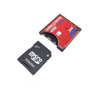 Переходник - адаптер MicroSD, SD в слот /разъем/ Compact Flash, Espada EmSDSDCF