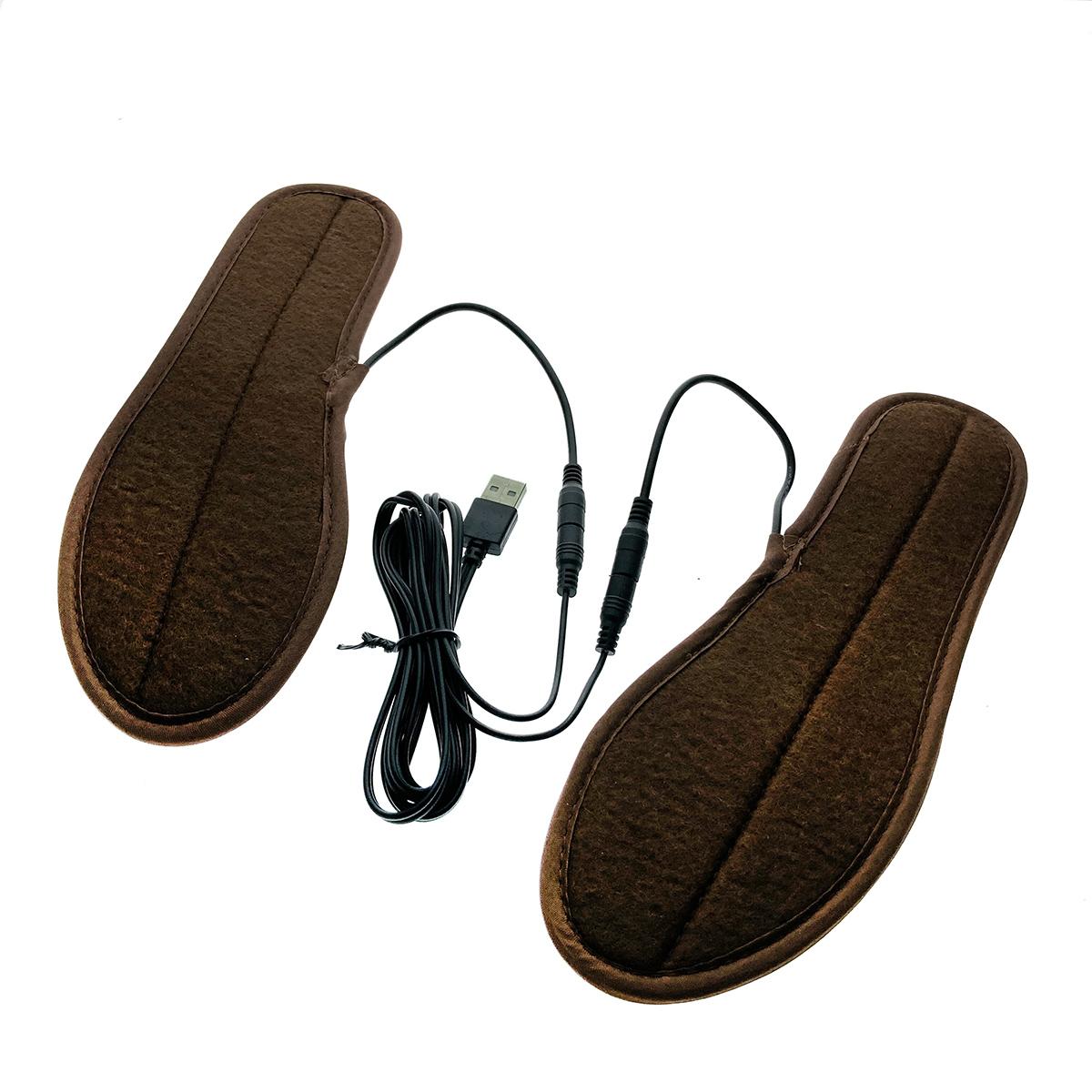 Стельки для обуви Ins-2 Espada с подогревом через USB, р-р 38-39