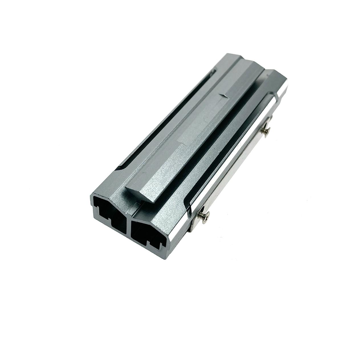 Радиатор для SSD М.2 2280 алюминиевый, модель ESP-R6, Espada, цвет серый